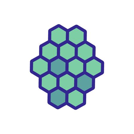 tile decorative icon vector. tile decorative sign. color isolated symbol illustration