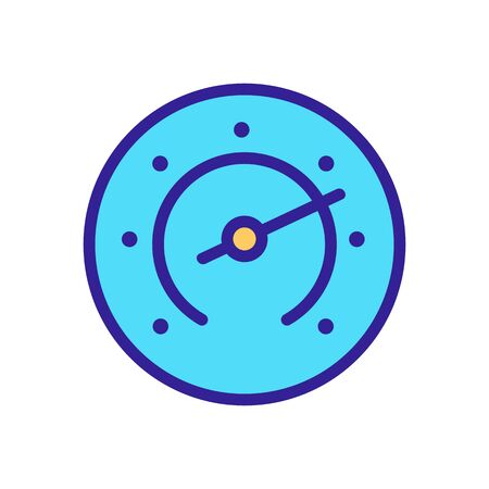 timing stopwatch icon vector. timing stopwatch sign. color symbol illustration