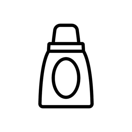 makeup products for moisturizing icon vector outline illustration