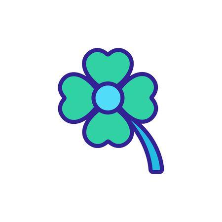 wild flower icon vector. wild flower sign. color symbol illustration Illustration