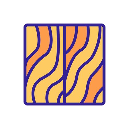 roll of linoleum icon vector. roll of linoleum sign. color symbol illustration