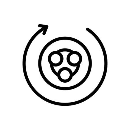 hand massagers sculptor circular for body icon vector. hand massagers sculptor circular for body sign. isolated contour symbol illustration