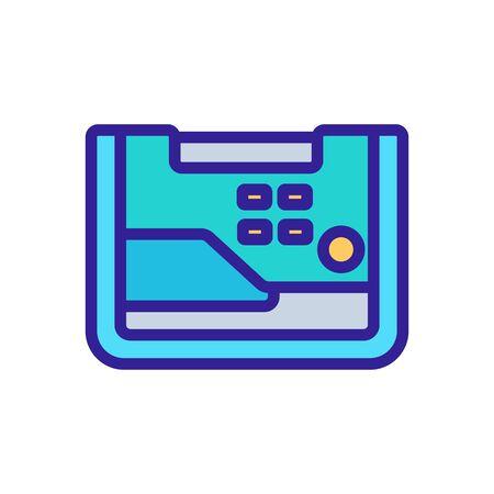 functional alternator icon vector. functional alternator sign. color symbol illustration