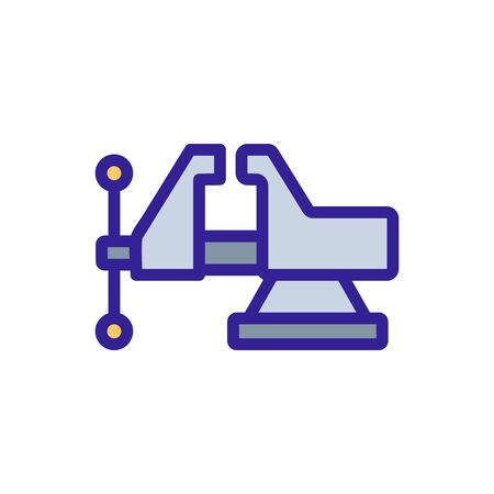 woodworking machine icon vector. woodworking machine sign. color symbol illustration