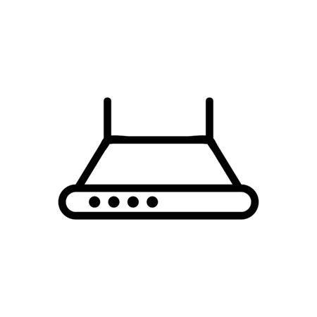 domeless cooker hood icon vector. domeless cooker hood sign. isolated contour symbol illustration