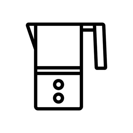 autonomous cappuccinators icon vector. autonomous cappuccinators sign. isolated contour symbol illustration