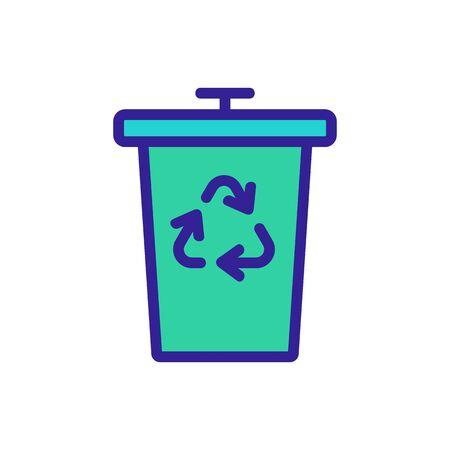 zero waste wooden scallops icon vector. zero waste wooden scallops sign. color symbol illustration