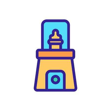sterilizer hygiene machine icon vector. sterilizer hygiene machine sign. isolated color symbol illustration
