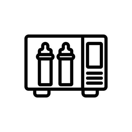 sterilizer accessory icon vector. sterilizer accessory sign. isolated contour symbol illustration