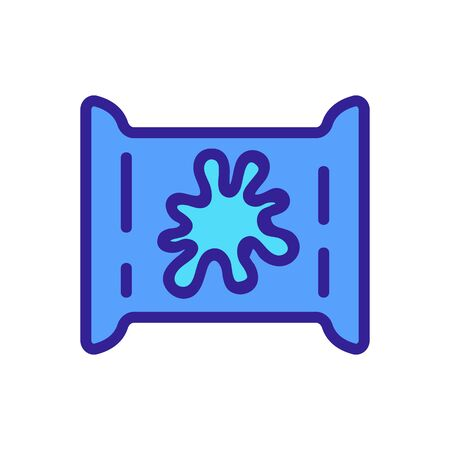 slime toy package icon vector. slime toy package sign. color symbol illustration