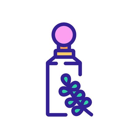 thyme opened package icon vector. thyme opened package sign. color symbol illustration 向量圖像