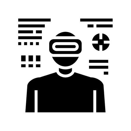 army of future glyph icon vector. army of future sign. isolated contour symbol black illustration