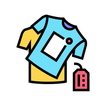 handmade clothes color icon vector. handmade clothes sign. isolated symbol illustration