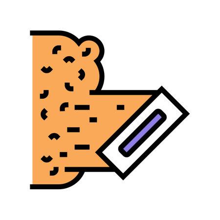 liquid wallpaper color icon vector. liquid wallpaper sign. isolated symbol illustration