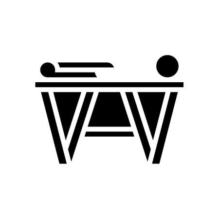 preparation for gluing wallpaper glyph icon vector. preparation for gluing wallpaper sign. isolated contour symbol black illustration Vecteurs