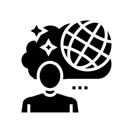 travel nostalgia glyph icon vector. travel nostalgia sign. isolated contour symbol black illustration