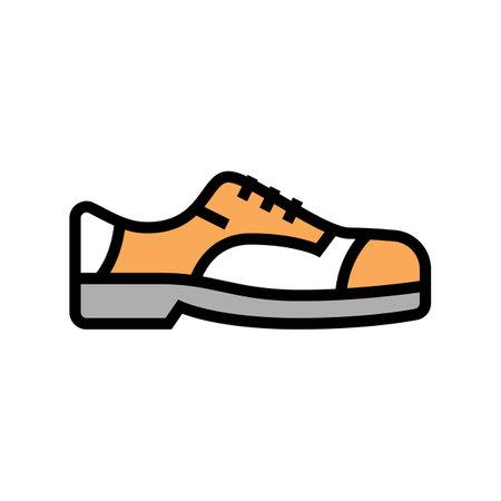 shoe model color icon vector. shoe model sign. isolated symbol illustration Vector Illustration