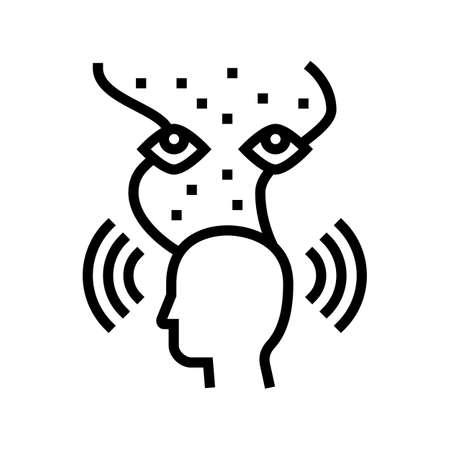metaphilosopy philosophy line icon vector. metaphilosopy philosophy sign. isolated contour symbol black illustration