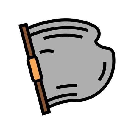 concrete building material color icon vector. concrete building material sign. isolated symbol illustration