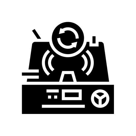 granulation pharmaceutical production glyph icon vector. granulation pharmaceutical production sign. isolated contour symbol black illustration