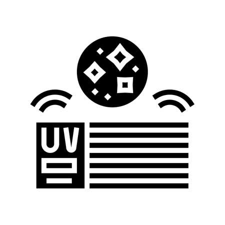 house air filtration system glyph icon vector. house air filtration system sign. isolated contour symbol black illustration