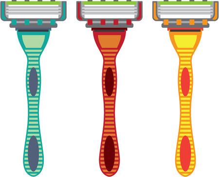shaver: Razor Vector illustration clip-art image file