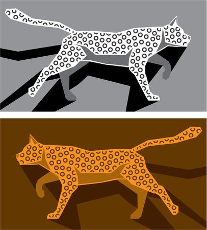 Image vectorielle Stylized chat illustration clip-art Banque d'images - 67756801