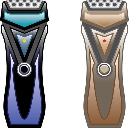 shaver: Electric Razor vector illustration clip-art image file