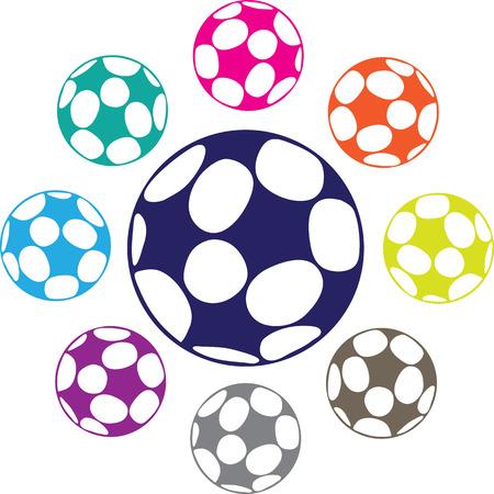 awaiting: Soccer ball image vector clip-art file