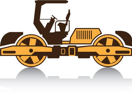 heavy machinery: Heavy machinery Clip-art vector image
