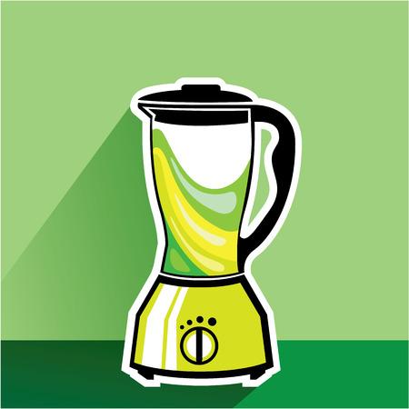 緑ミキサー ベクトル イラスト クリップ アート イメージ