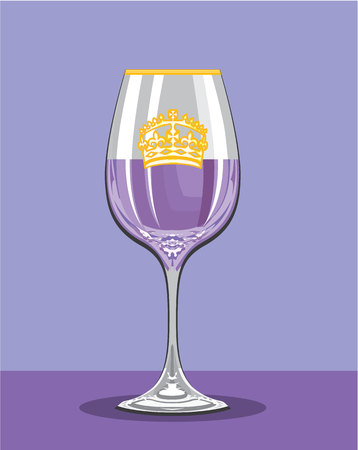 Royal potion vector illustration clip-art image eps