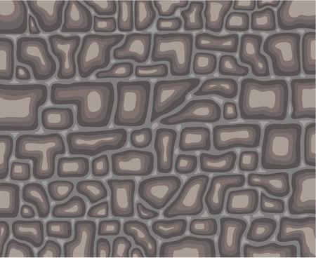 Stone wall vector illustration clip-art image