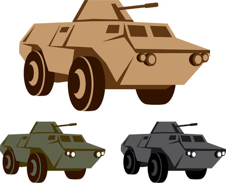 convoy: APC vector illustration military vehicle clip-art file