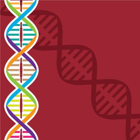 Afbeelding van de klem van de DNA vector-illustraties
