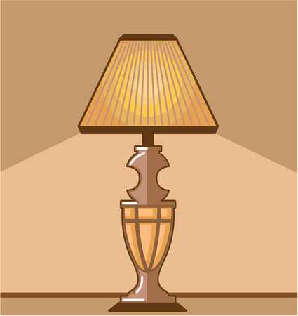 Night light vector illustration clip-art image