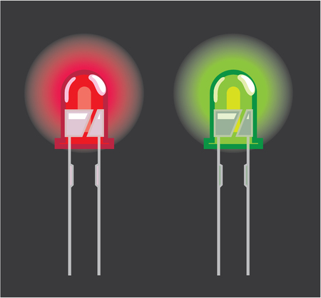 diode: Mini diode vector illustration clip-art image