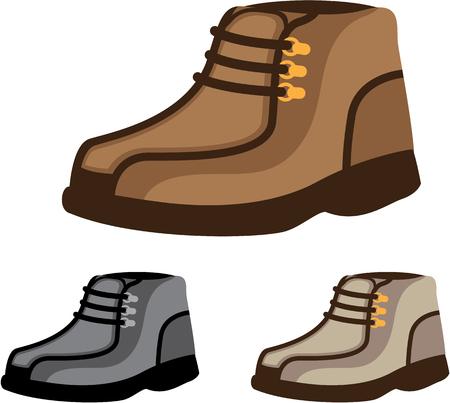 immagine clip-art illustrazione vettoriale scarpa Mans