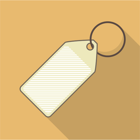 Tag vector illustration clip-art image