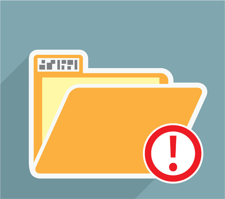 Unknown Folder vector icon image
