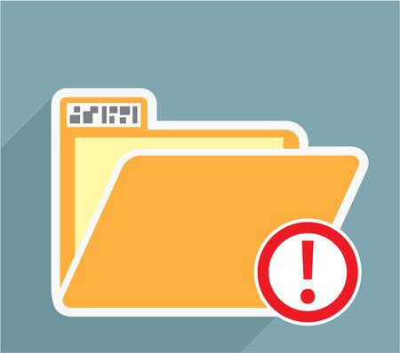 Unknown Folder vector icon image