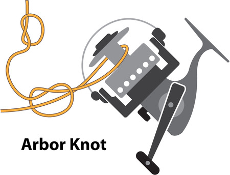 Arbor knot Marked diagram vector illustration clip-art image