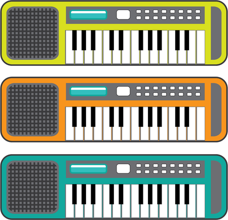 Small Keyboard illustration clip-art image file