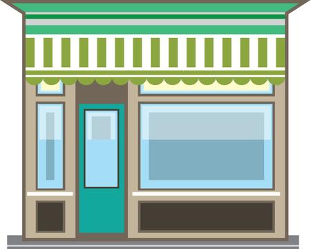 Store Front illustration clip-art image file