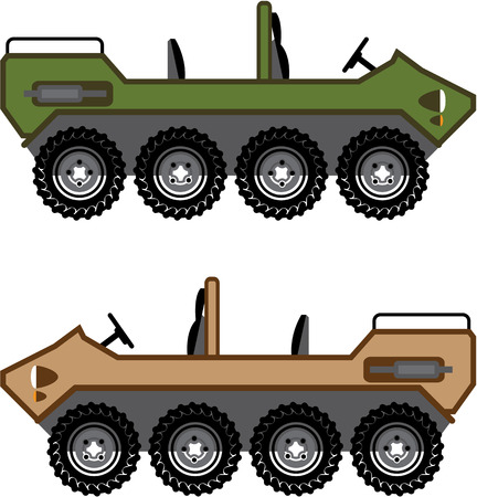 Off road Vehicle Utility illustration clip-art