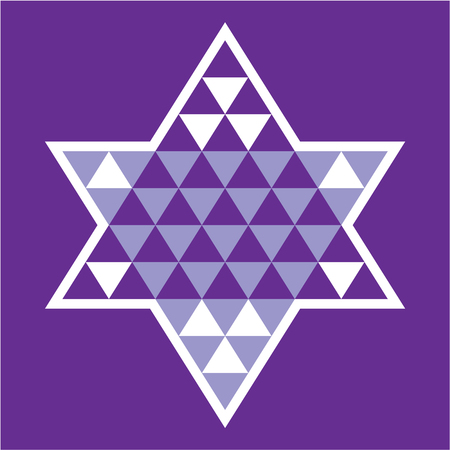 Star of david illustration clip-art image