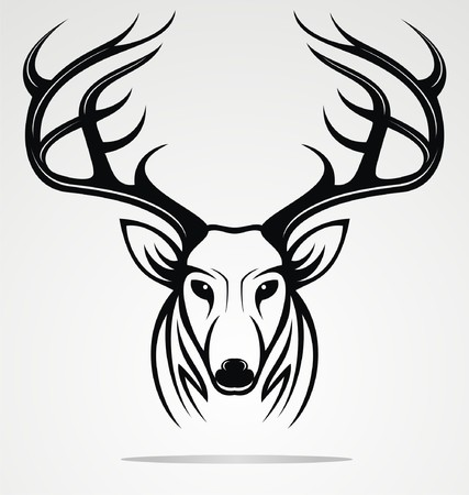 tribalism: Deer Head Tribal