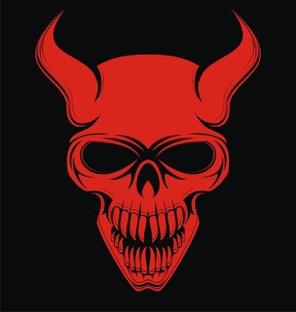 horrific: Red Devil Skulls