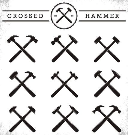 hardwork: Crossed Hammer
