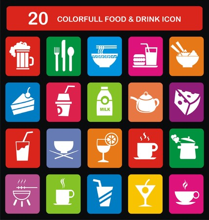 colorfull: Colorfull Food & Drink Icon